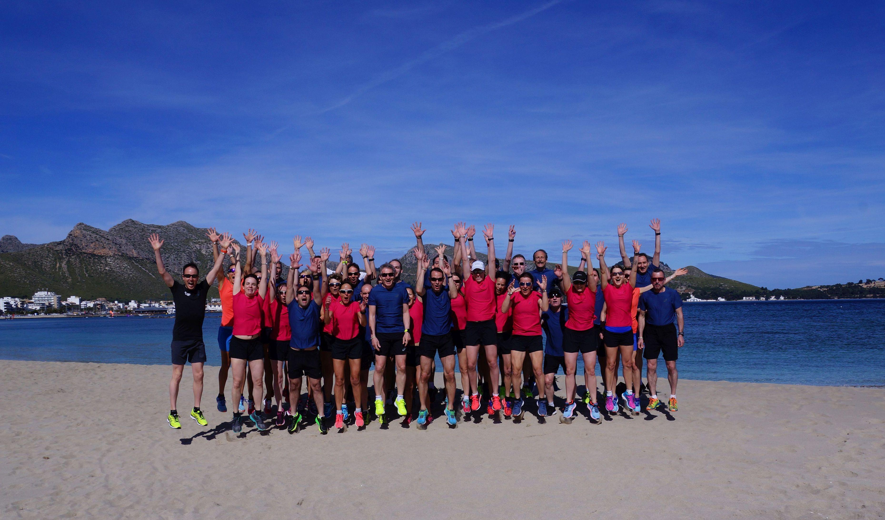 Laufwoche Mallorca Gruppenfoto